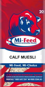 Calf Muesli